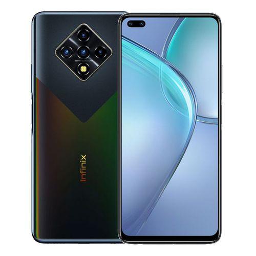 Zero 8 - 6.85-inch 128GB/8GB Dual SIM 4G Mobile Phone - Black Diamond