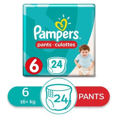 Junior Pants Diapers - Size 6- 24Pcs