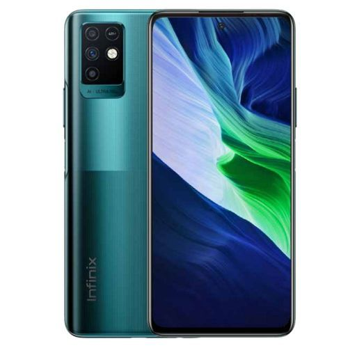 Note 10 - 6.95-inch 128GB /6GB Dual SIM 4G Mobile Phone - Emerald Green