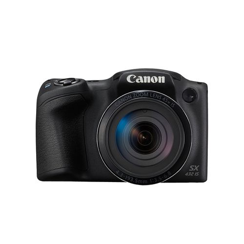product_image_name-Canon-PowerShot SX430 IS - 20.5 MP Digital Camera with 45x Optical Zoom - Black-1