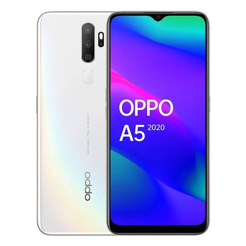 A5 (2020) - 6.5-inch 128GB/4GB Dual SIM Mobile Phone - Dazzling White