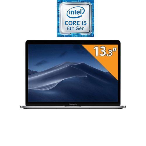 MacBook Pro 13 With Touch Bar (Mid 2020) MXK72LL/A - Intel Core I5 - 8GB RAM - 512GB SSD - 13.3-inch Retina Display - Intel GPU - MacOS - Silver - English Keyboard