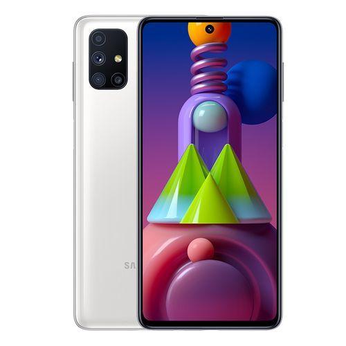Samsung Galaxy M51 - 6.7-inch 128GB/8GB Dual SIM 4G Mobile Phone - White