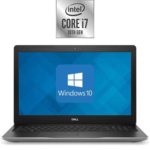 DELL Inspiron 15-3593 Laptop - Intel Core I7 - 8GB RAM - 1TB HDD - 15.6-inch FHD - 4GB GPU - Windows 10 - Silver