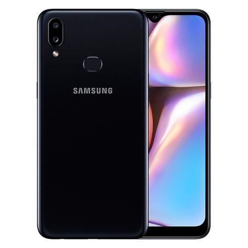 Galaxy A10s - 6.2 بوصة 32 جيجا بايت/2 جيجا بايت ثنائي الشريحة 4G موبايل - أسود