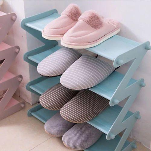 product_image_name-Generic-Shoe Rack Organizer 4 Levels - 48*18 Cm-1