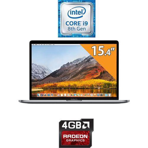 MacBook Pro 15 With Touch Bar (Mid 2019) - Intel Core i9 - 16GB RAM - 512GB SSD - 15.4-inch Retina - 4GB GPU - MacOS - Space Grey - English Keyboard