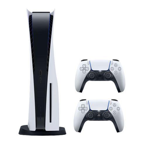 PlayStation 5 Console + 2 DualSense Wireless Controller