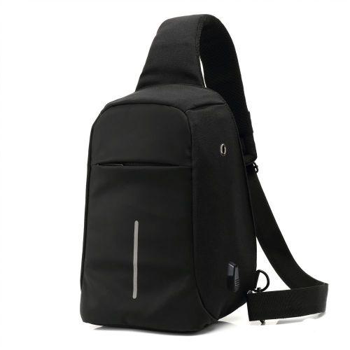 Reman Laptop Anti-Theft Backpack Bag - Black
