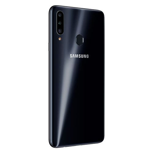 Samsung Galaxy A20s موبايل ثنائي الشريحة 6.5 بوصة 32 جيجا/3 جيجا - 4G - أسود