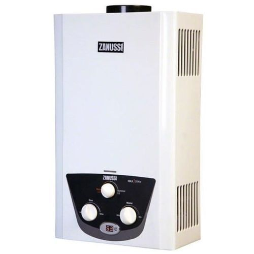 Zanussi Zyg10122Wb سخان غاز بدون خزان 10 لتر