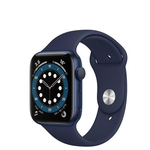 Watch Series 6 (GPS Only) 40mm Blue Aluminum Case with Deep Navy Sport Band