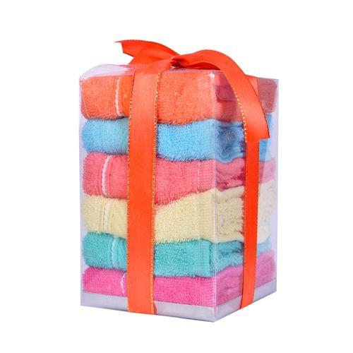 Cotton Towels - 6 Pcs - 30*30cm