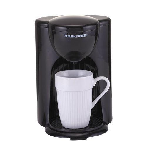 product_image_name-Black & Decker-DCM25 Coffee Maker - 1 Cup - 330-Watt - Black-1