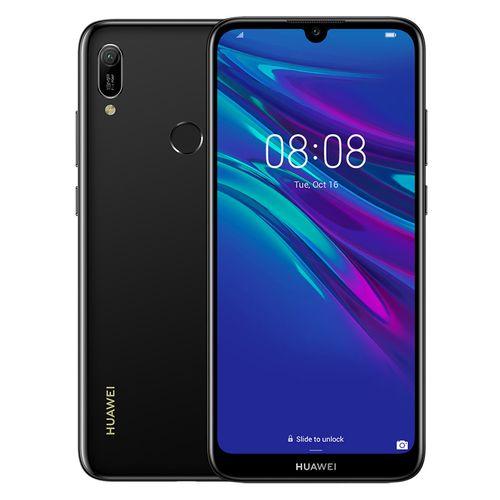Huawei Y6 Prime (2019) -موبايل ثنائي الشريحة - 6.09 بوصة - 32 جيجا/2جيجا - 4G - أسود