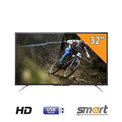 32-بوصة HD LED شاشة سمارت - أسود