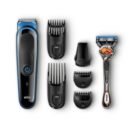 MGK3045 Grooming Kit - Black/Blue + Gillette Fusion ProGlide Razor