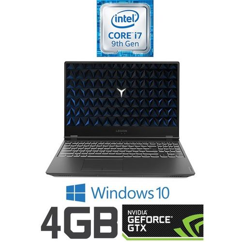 Lenovo Legion Y540-15IRH Gaming Laptop - Intel Core I7 - 16GB RAM - 1TB HDD + 512GB SSD - 15.6-inch FHD - 4GB GPU - Windows 10 - Black