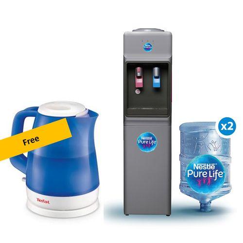 Nestle Pure Life Fresh FW14VFS Hot & Cold Water Dispenser + 2 Filled 18.9L  Bottles + Free Tefal Kettle @ Best Price Online | Jumia Egypt