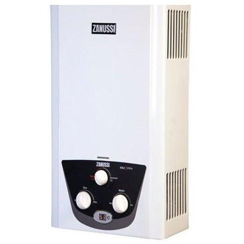 Zanussi GZD10 W سخان مياه غاز ديجيتال - 10 لتر - أبيض.