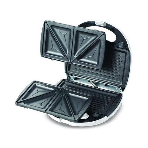 SMP01.AOWH Sandwich Maker With Grill - 750 Watt