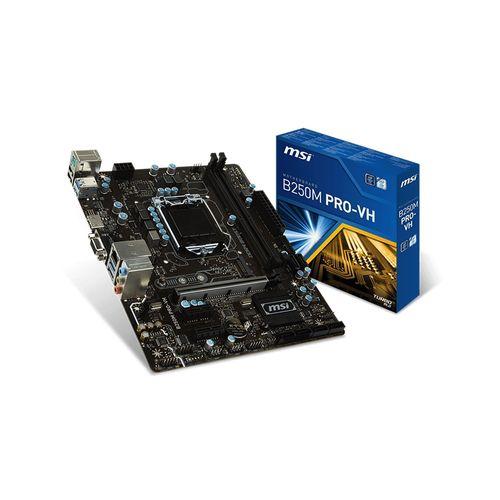 MSI B250M PRO-VH - Socket 1151 Micro-ATX Motherboard