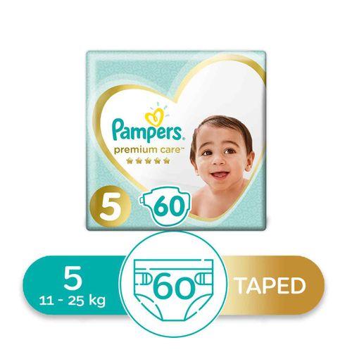 Premium Care Diapers - Size 5 - 60 Pcs