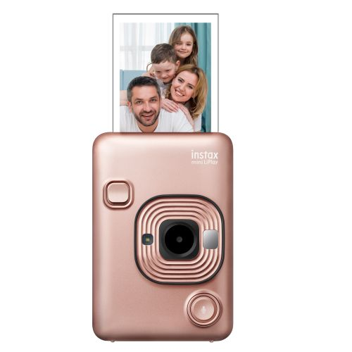 product_image_name-Fujifilm-INSTAX Mini LiPlay Hybrid Camera - Blush Gold-1