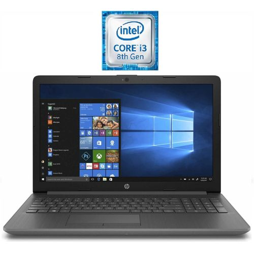 HP Laptop 15-DA1022nx Intel Core I3-8145U - 4GB RAM - 1TB HDD - 15.6 Inch - Intel UHD 620 Graphics - Dos - Grey