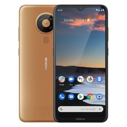 5.3 - 6.55-inch 64GB/4GB Dual SIM 4G Mobile Phone - Sand