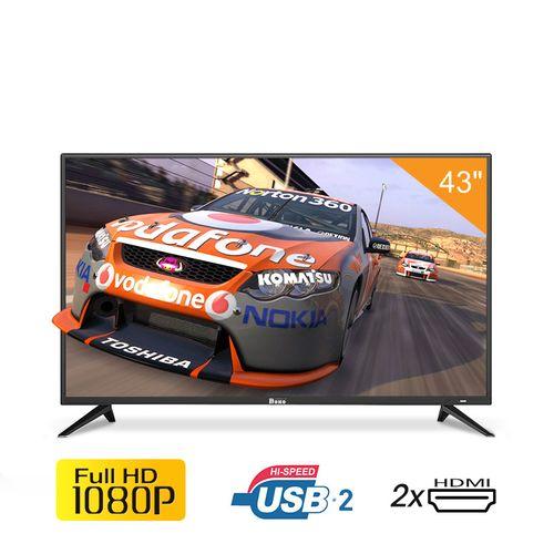 تلفزيون Full HD LED 43 بوصة - أسود