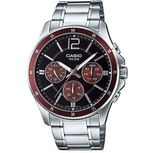 Casio Mtp-1374d-5a Stainless Steel Watch – Silver