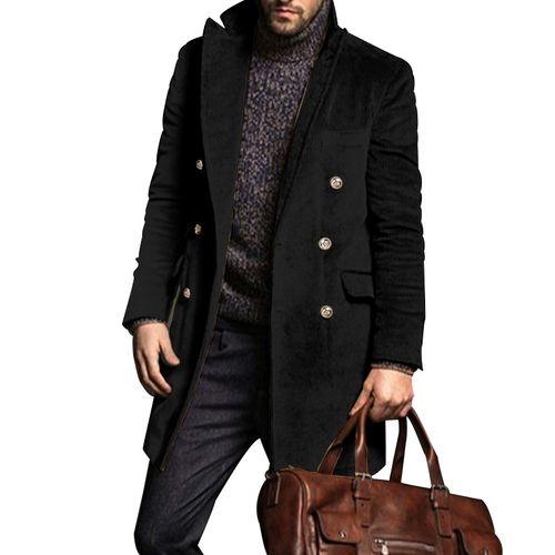 Generic Men Winter Leisure Long Sleeve Corduroy Jacket