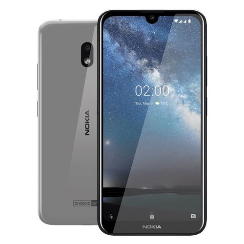 2.2 - 5.71-inch 32GB/3GB Mobile Phone - Steel
