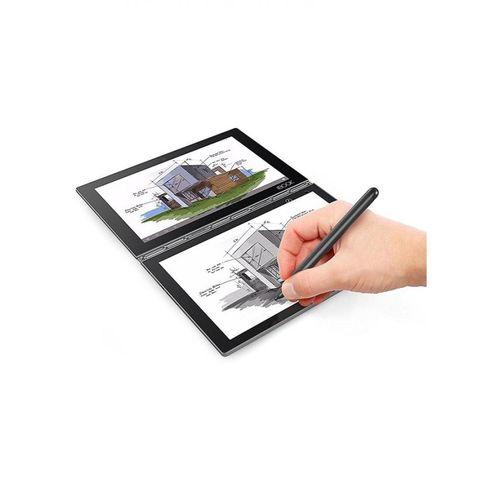Lenovo لاب توب 2 في 1 Yoga - Intel Atom X5  - رام 4 جيجا بايت - eMMC 64 جيجا بايت - شاشة عالية الجودة 10.1 بوصة FHD تعمل باللمس - معالج رسومات إنتل- ويندوز 10 - أسود - لوحة مفاتيح باللغة الإنجليزية