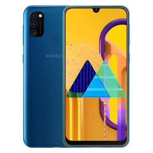 Samsung Galaxy M30s موبايل ثنائي الشريحة 64 جيجا/4 جيجا 6.4 بوصة -أزرق