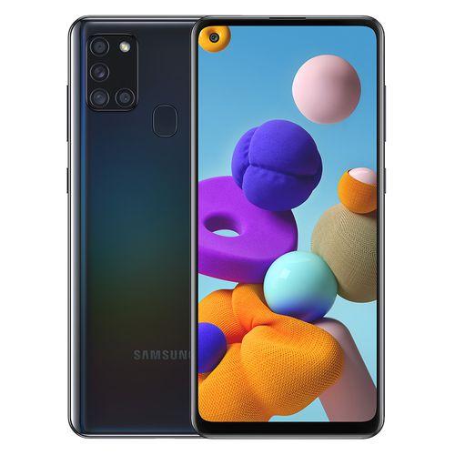 Galaxy A21s - 6.5-inch 64GB/4GB Dual SIM Mobile Phone - Black