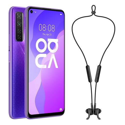 Huawei nova 7 SE - 6.5-inch 128GB/8GB 5G Mobile Phone - Midsummer Purple + Free AM61 - Sport Wireless Earphones