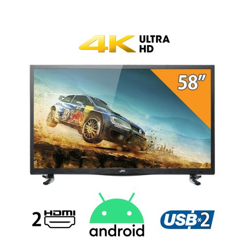 158T - 58-inch 4K LED Smart TV with Android OS