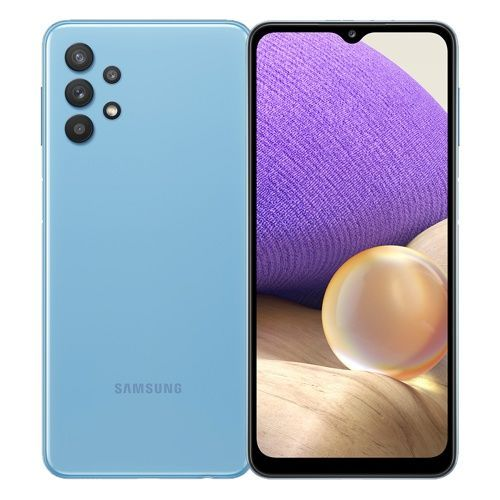 Galaxy A32 – 6.4-inch 6GB/128GB LTE Mobile Phone - Awesome Blue