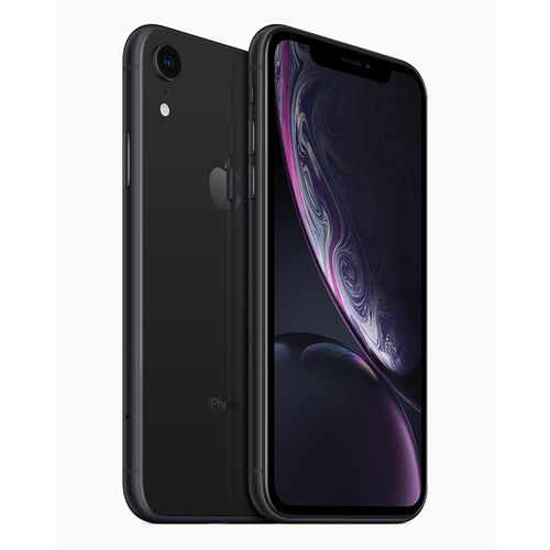 سعر ومواصفات أفضل موبايل ايفون Apple iPhone XR - سعة 128 جيجابايت - أسود من جوميا مصر