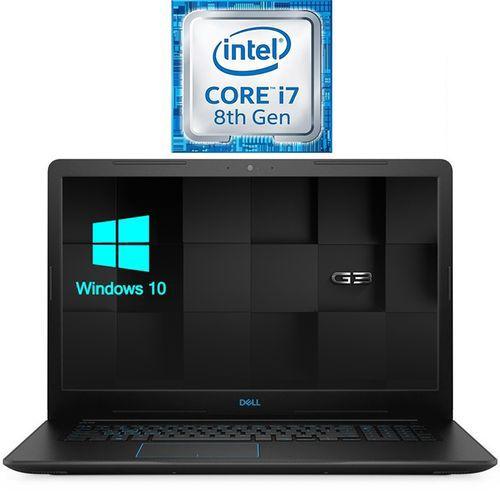 DELL G3 17-3779 لاب توب ألعاب - انتل كور I7 - رام 16 جيجا - هارد 2 تيرا + SSD 256 جيجا - 17.3 بوصة FHD - مُعالج رسومات 6 جيجا - Windows 10