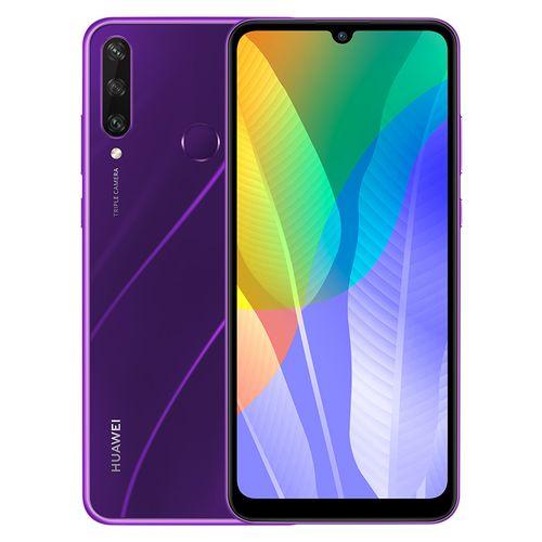 Huawei Y6p - 6.3-inch 64GB/3GB 4G Mobile Phone - Phantom Purple