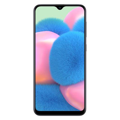 Samsung Galaxy A30s موبايل ثنائي الشريحة 128 جيجا/4 جيجا 6.4 بوصة - 4G - أسود
