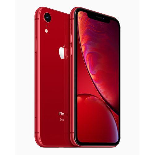 سعر ومواصفات أفضل موبايل ايفون أبل أيفون XR - سعة 128 جيجا - أحمر من جوميا مصر