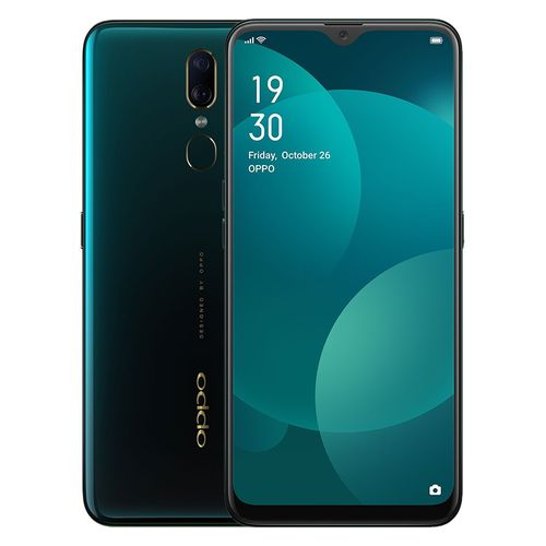 F11 - 6.53-inch 64GB/6GB 4G Mobile Phone - Marble Green