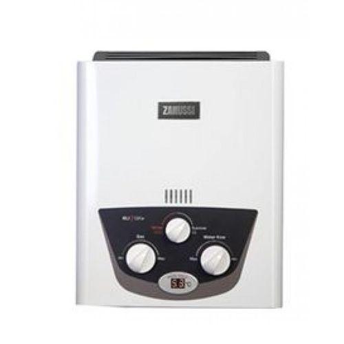 Zanussi ZYG06313WL سخان غاز - أبيض - 6 لتر
