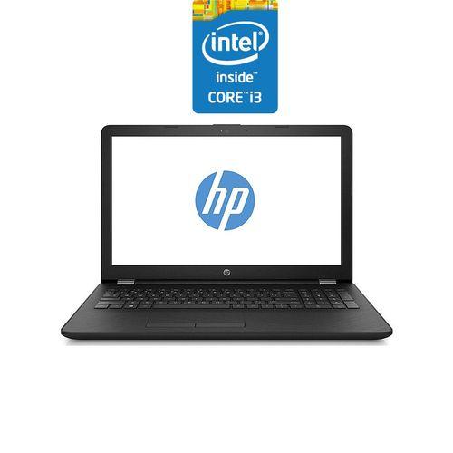 HP 15-bs151ne لاب توب - مُعالج Intel Core i3 - 4 جيجا بايت رام - 500 جيجا بايت درايف هارد ديسك - 15.6-بوصة HD - مُعالج رسومات Intel - نظام تشغيل DOS - أسود