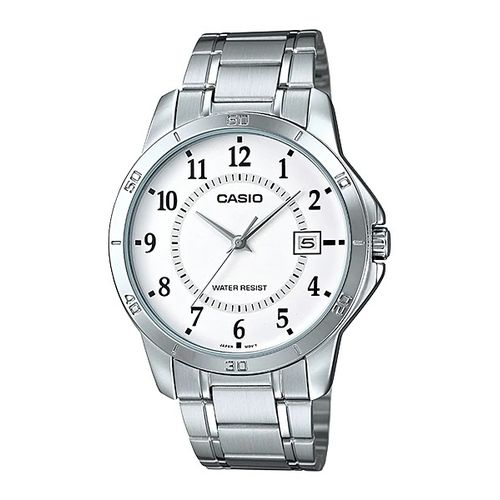 Casio MTP-V004D-7BUDF Stainless Steel Watch – Silver
