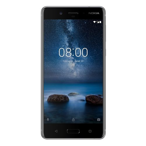 8 - 5.3-inch 64GB/4GB - 4G Mobile Phone - Steel